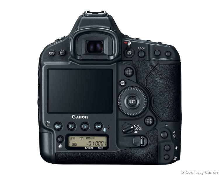 Canon EOS-1D X Mark II back