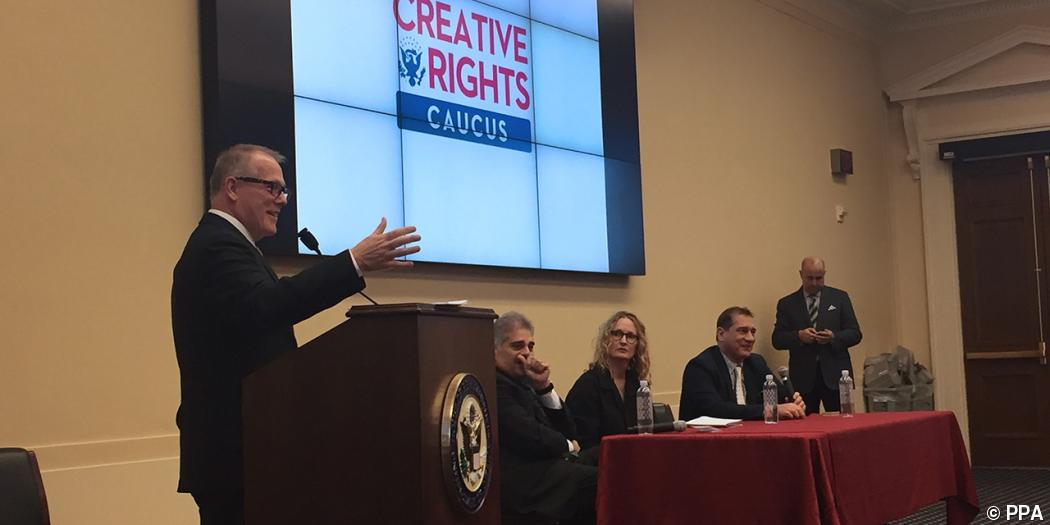 Photographers share copyright infringement woes with lawmakers