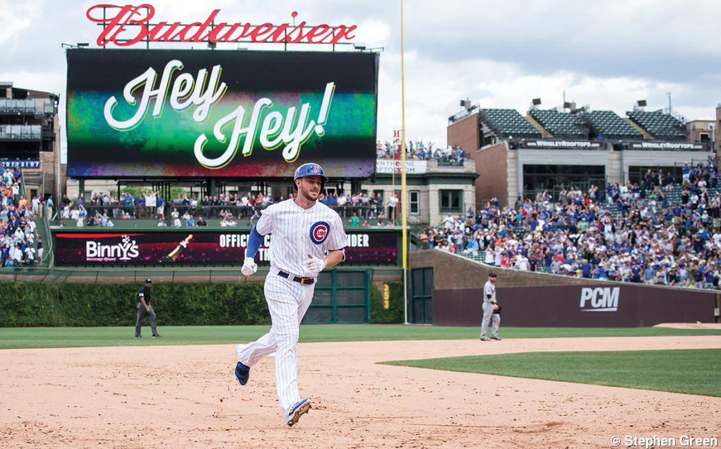 This Cubs photo was a home run in more ways than one