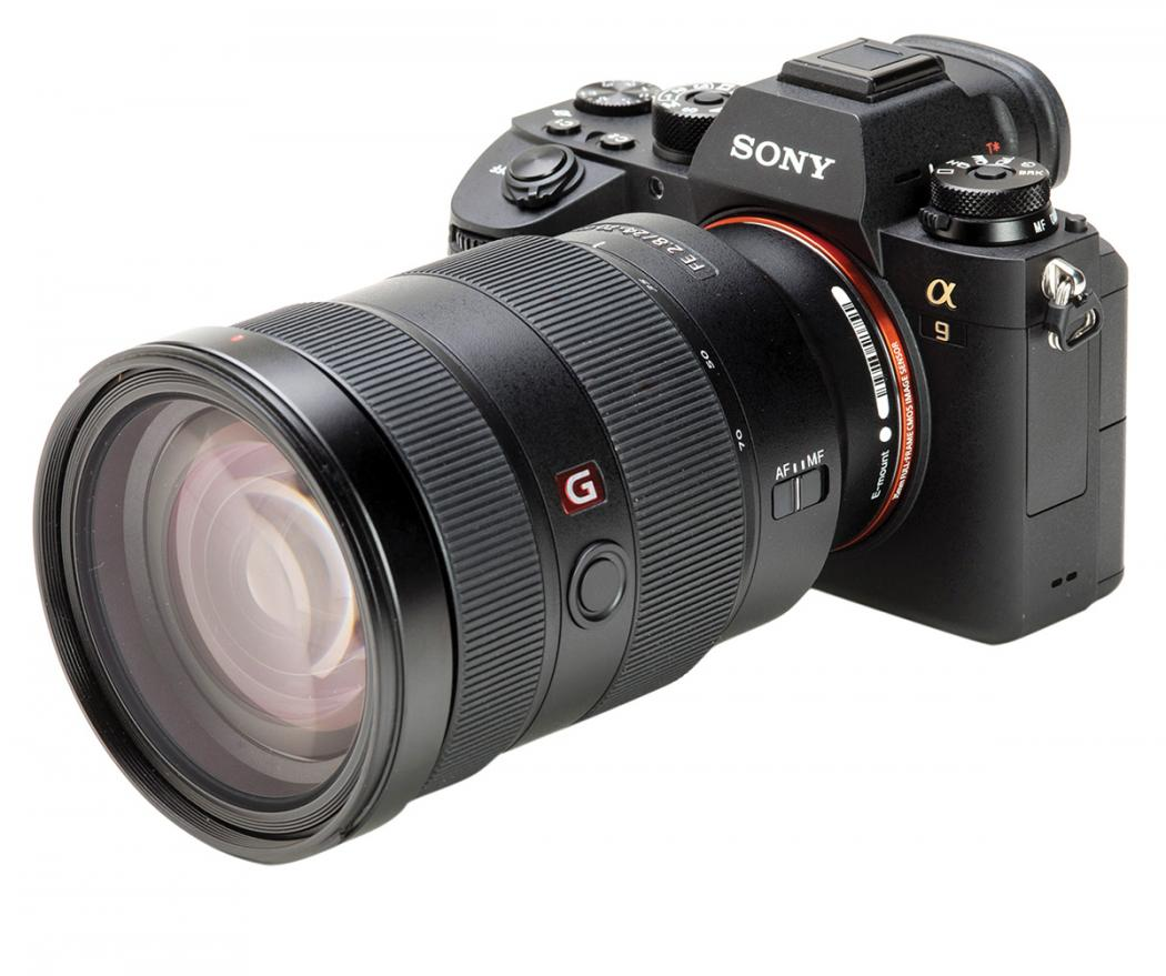 First look: Sony a9 camera