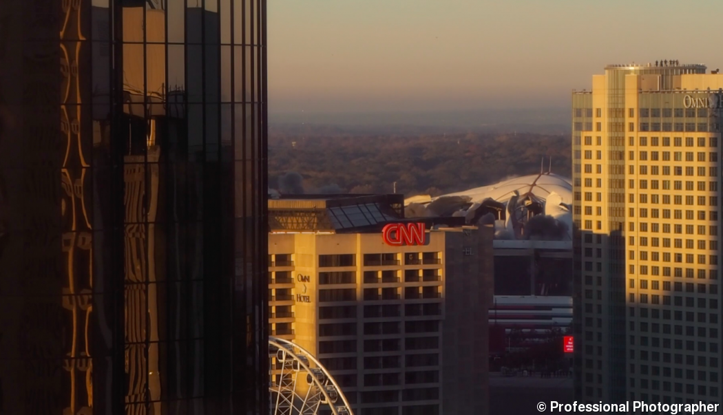 Georgia Dome Implosion from PPmag offices