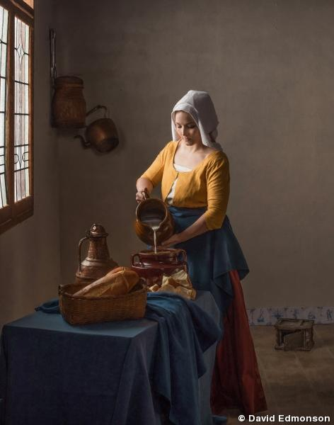 Tribute to Vermeer