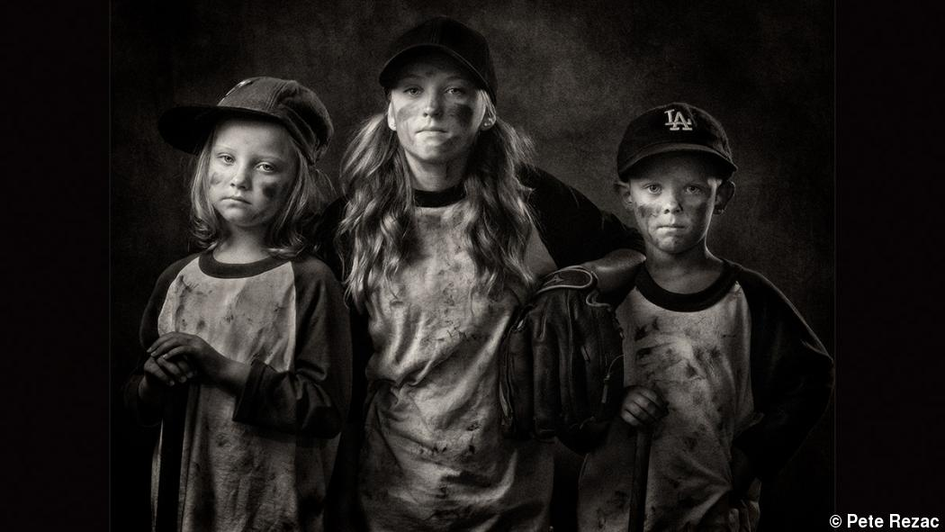 Authentic child portraiture, dirt and all