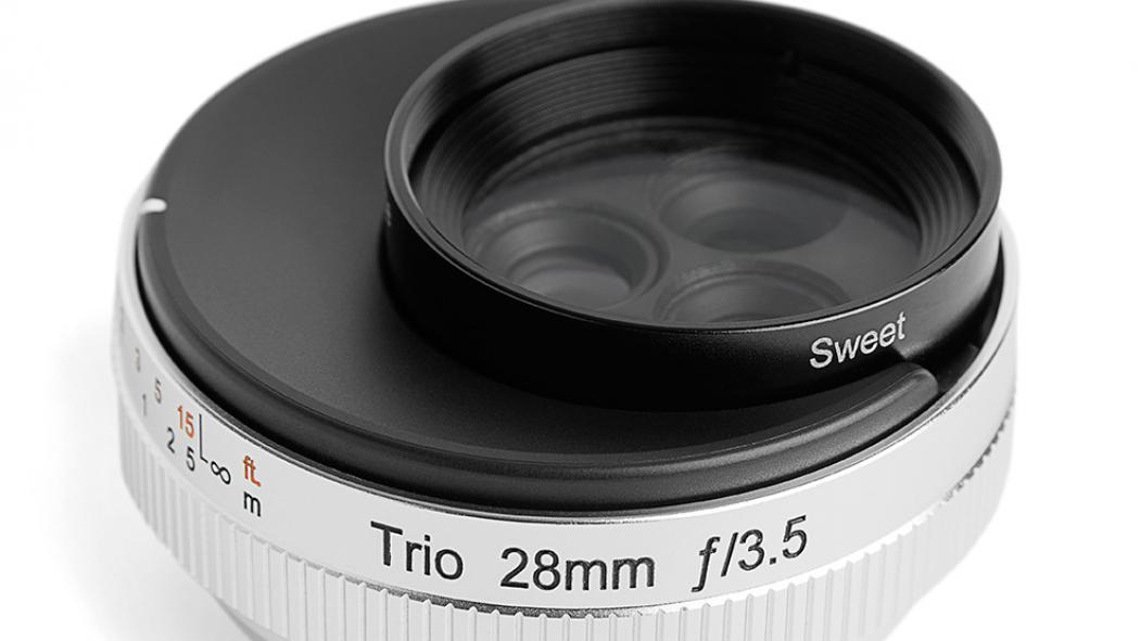 New creative optics for mirrorless cameras