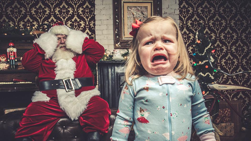 How Jeff Roffman's hilarious Santa portraits went viral