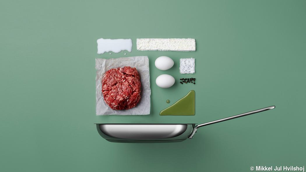 Deconstructed dishes by commercial photographer Mikkel Jul Hvilshoj