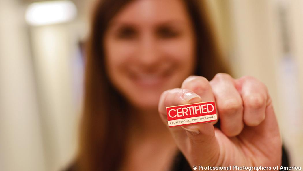Certified professional photographer credential speaks volumes
