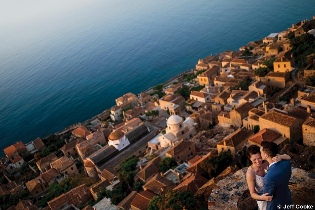 Anatomy of an image: Destination wedding in Greece