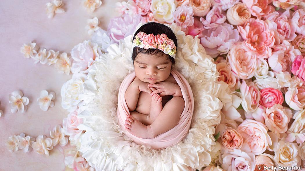 How to stage a successful newborn session