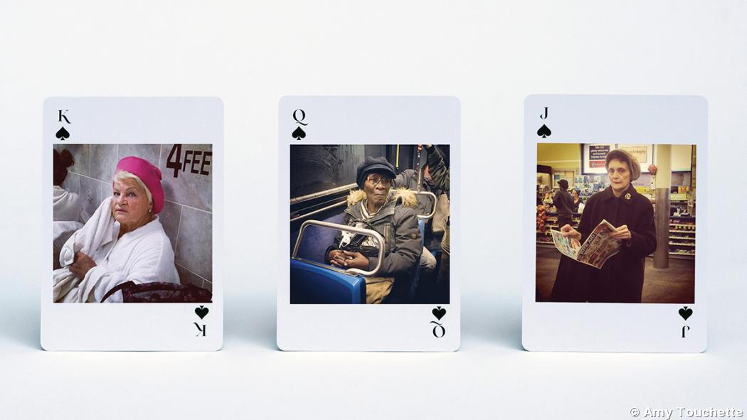 Playing cards: A new medium for street photography