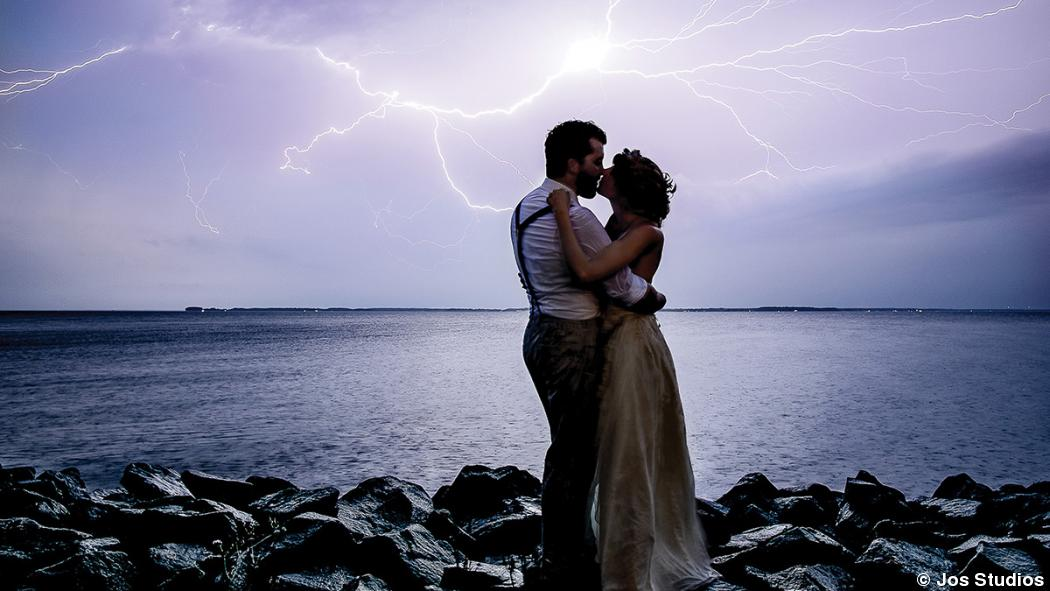 How they did it: An electrical wedding portrait