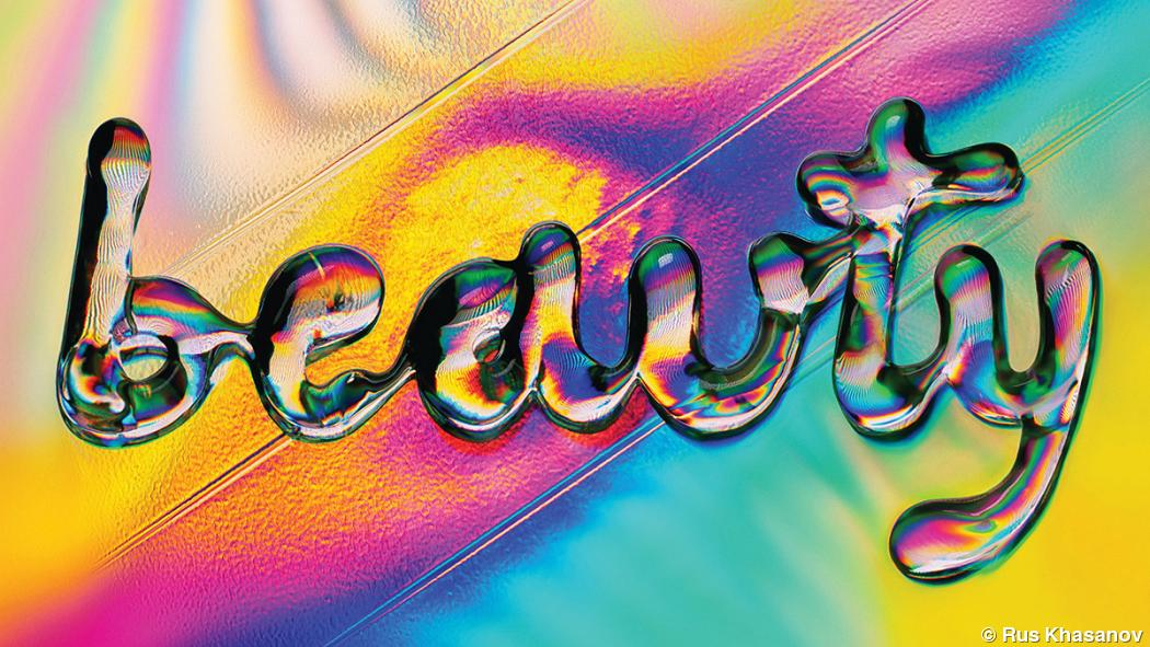 Photographer Rus Khasanov creates liquid lettering