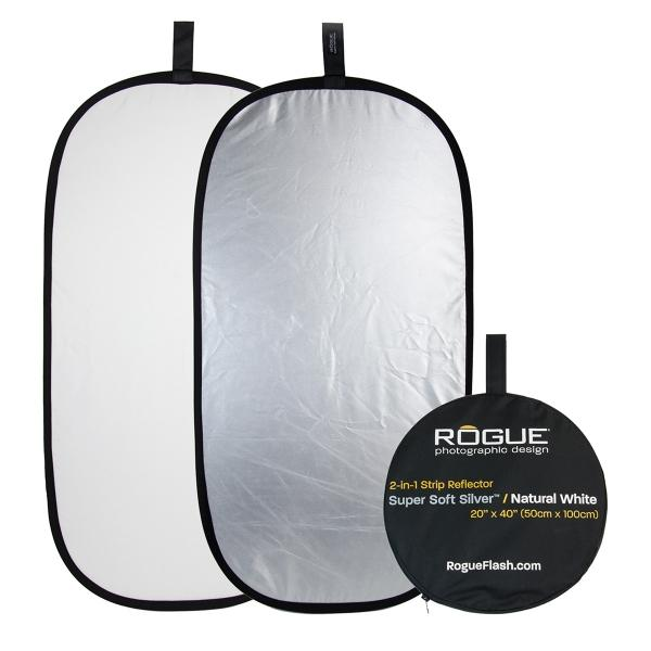 2-in-1 Super Soft Silver/Natural White Reflector