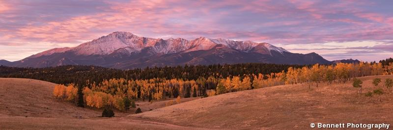 Autumn Splendor, Pikes Peak