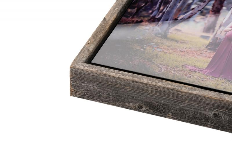 Bay Photo Slim Barnwood Float Frame