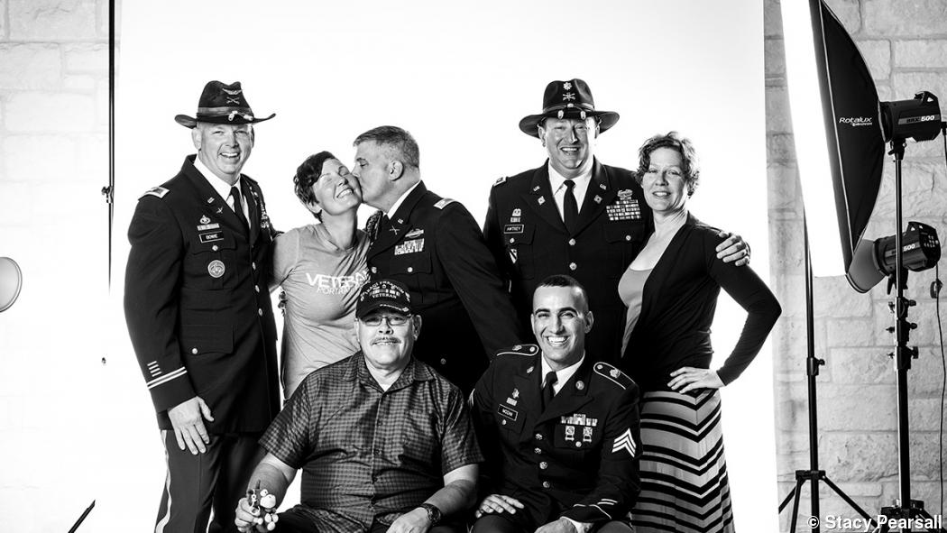 Record of service: Stacy Pearsall's veteran portraits