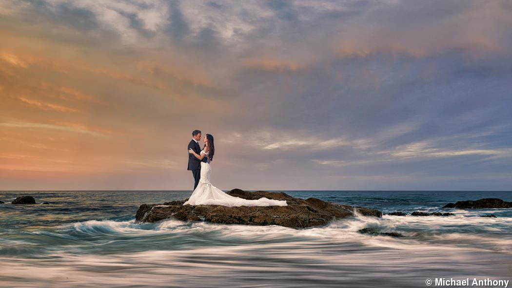 Wedding photographer Michael Anthony's flair for drama